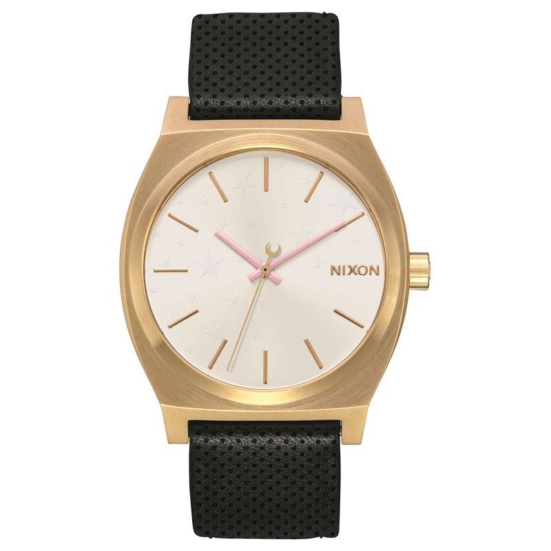 Nixon The Medium Time Teller Leather Gold/Soft Pink/LH