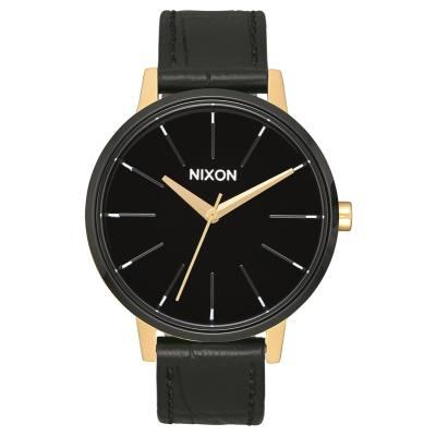 Nixon The Kensington Leather Gold/Black/White