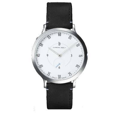 Lilienthal L1 - silber/weiß, Band schwarz