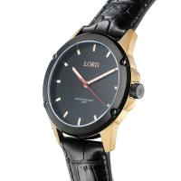 Lord Timepieces Bolt Black Rose