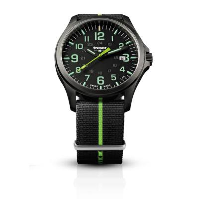 traser Officer Pro GunMetal Black/Lime