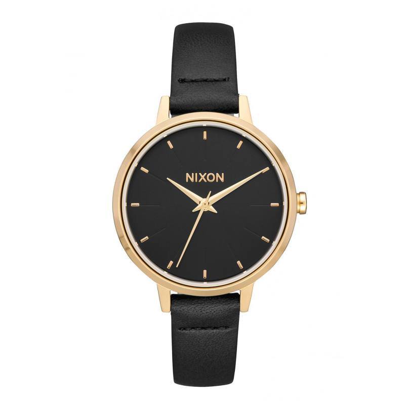 Nixon The Medium Kensington Leather Gold/Black
