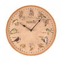 Outside-In Birdberry Wanduhr