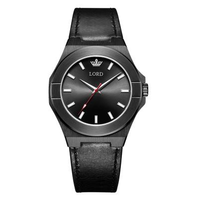 Lord Timepieces Infinity Knight Black Leather