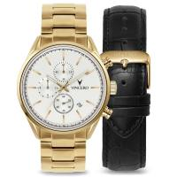 Vincero The Chrono S - Gold Reserve Set