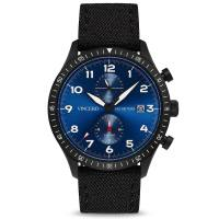 Vincero The Altitude Matte Black/Cobalt