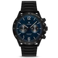 Vincero The Apex - mattschwarz/marineblau