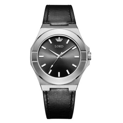 Lord Timepieces Infinity Silver Black
