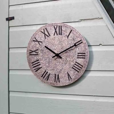Outside-In Rock Clock Wanduhr